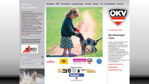 Website ÖKV